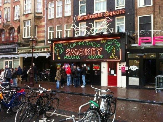 Smokey Coffeeshop