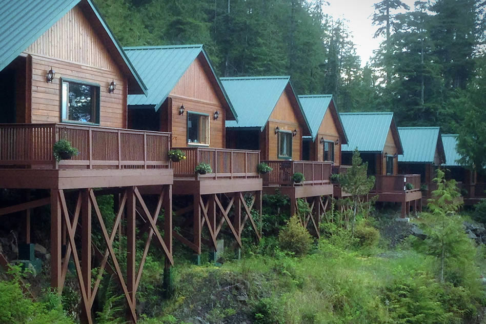 Bear Cove Cottages SportsFishing and Wellness Retreats
