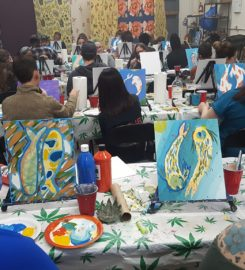Puff, Pass, And Paint!