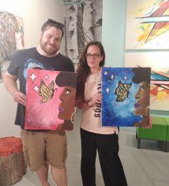 Kush & Canvases (420ArtClass)